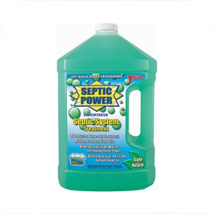 Motorhome RV Holding Tank Enzyme Pour In Deodorizer Cleaner Septic Power 1 Gal by OP Products