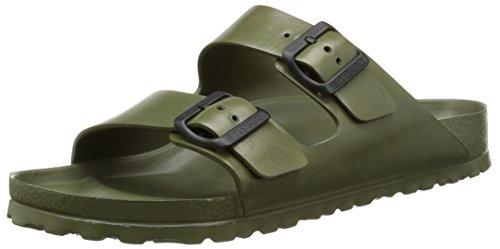 Birkenstock Essentials Unisex Arizona EVA Sandals Khaki 44 R EU (US Men's 11-11.5) (Birkenstock Sandals Water)