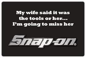 snap-on tools Tools or Her Decal