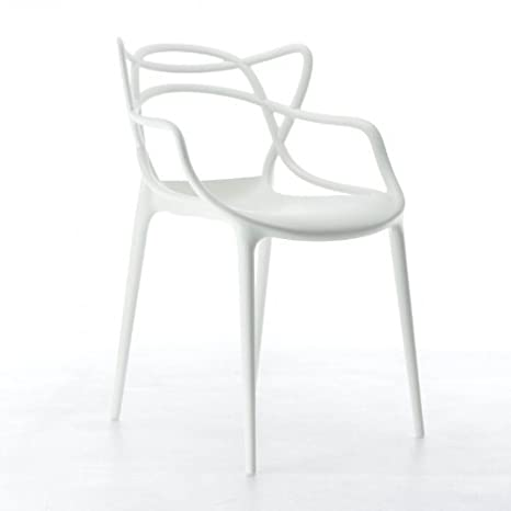 Kartell, Sedia Masters, Colore: Bianco: Philippe Starck mit Eugeni ...