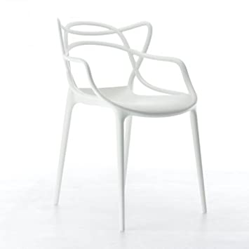 Kartell 586503 Stuhl Masters, Weiß