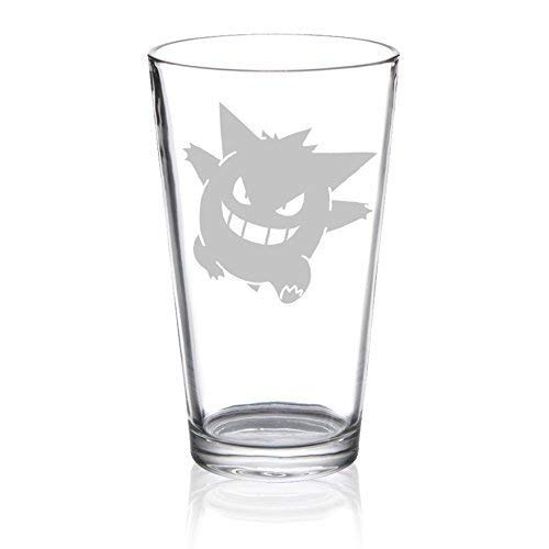 (Gengar - Etched Pint Glass)