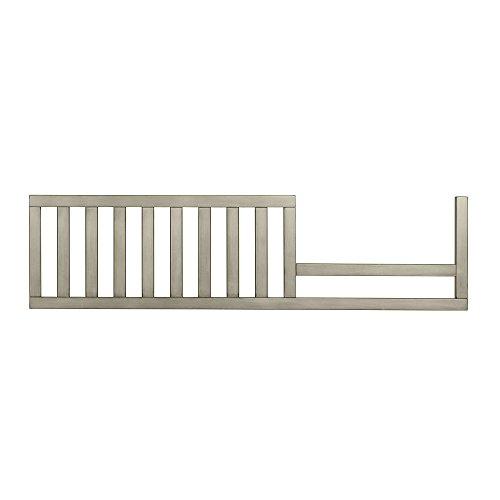 Evolur Convertible Crib Toddler Guard Rail, Pewter