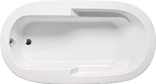 (Americh OM7236BA2-WH Madison Oval 7236-Builder Series-Airbath 2 Combo Tub, White)