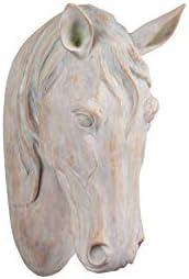 Creative Co-op Resin Horse Head