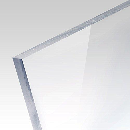 5mm PLEXIGLAS® Platte 100x70 cm transparent