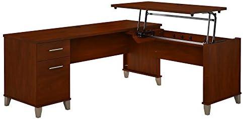 Bush Furniture Somerset 3 Position Sit to Stand L Shaped Desk