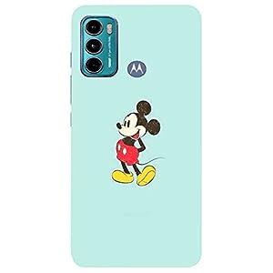 Micky Mouse,Cartoon Design Back Cover for Motorola Moto G60/Motorola Moto G40 Fusion