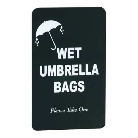 Glaro Sign (Wet Umbrella Bag Sign)