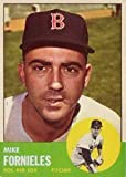 1963 Topps Regular (Baseball) Card# 28 Mike Fornieles of the Boston Red Sox Ex Condition