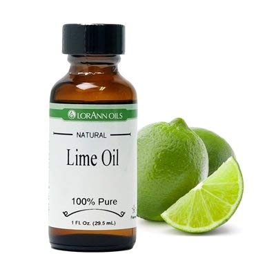 - LorAnn Lime Oil, Natural 1 oz.