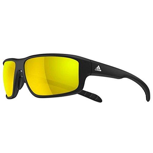 adidas Men's Kumacross 2.0 a424 6060 Rectangular Sunglasses, Black Matte, 64 (Adidas Sunglasses)
