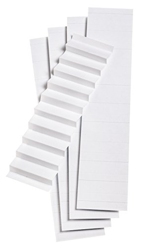 1/5 Cut Tab Hanging (Pendaflex Blank Inserts for 1/5 Cut Hanging File Folders, 2 in, White, 100/Pack (242))