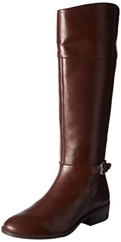 Lauren Ralph Lauren Women's Madisen Fashion Boot, Dark Brown, 9 B US