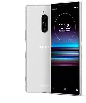 Amazon Com Sony Xperia 1 J9110 Dual Sim 128gb 6gb Dual Sim International Model No Warranty In The Usa Gsm Only No Cdma White White Electronics