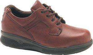 Shoe Carolina Oxfords (Women's Carolina Domestic ESD Nature Toe Oxford Shoes Burnt Maple, BURNT MAPLE, 9)