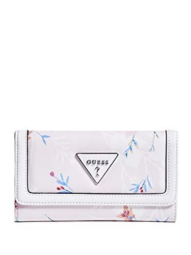 GUESS Factory Women's Braelynn Floral-Print Slim Wallet