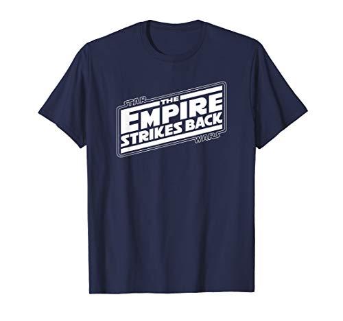 Star Wars The Empire Strikes Back Angled Movie Logo T-Shirt