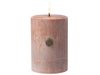 Cinnamon Cider 14 oz Pillar Candle by Aromatique Cinnamon and Spices Mixed With Apples and A Touch of Citrus, Burns 40 Hours
