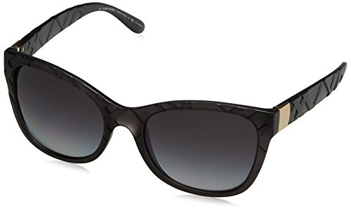 Burberry Women BE4219 56 Grey/Grey Sunglasses - Sunglasses Outlet