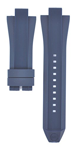 13x29mm Rubber Suitable For MK8380 MK8356 MK8295 MK9026 Watches Band Strap (blue)