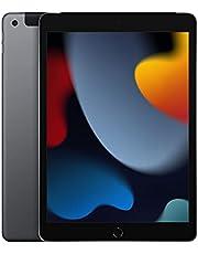 2021 Apple iPad (10,2‑inch, Wi-Fi + Cellular, 64GB) - spacegrijs (9e generatie)