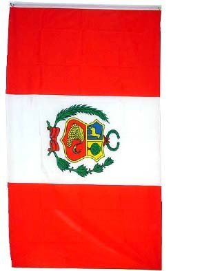 peru national flag peruvian banner