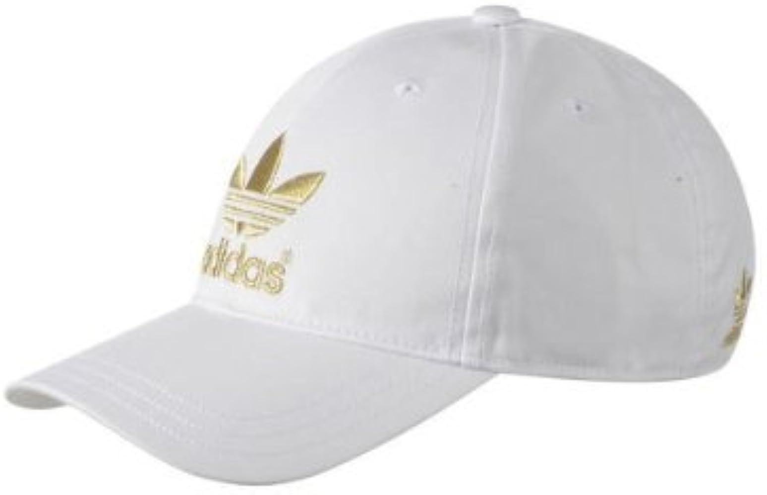 adidas G84833 Gorra, Unisex, Blanco/Dorado: Amazon.es: Ropa y ...