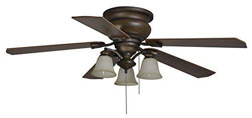 Hampton Bay Eastvale 52 in. Berre Walnut Ceiling Fan
