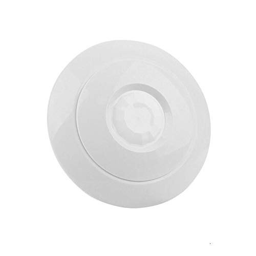 Indoor 360 Degree Ceiling Mounted Mini PIR Motion Detector Infrared Sensor Light Switch NC NO Output Options Intruder Alarm (Motion Detector Infrared Passive)