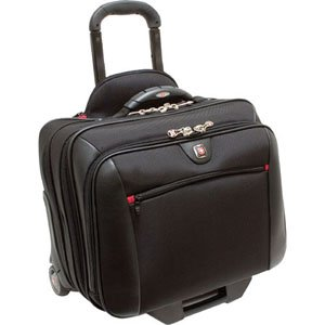 TRG WA-7966-02F00 SWISSGEAR POTOMAC ROLLING CASE BLACK FITS UP TO 15.4IN - Case Rolling Notebook Potomac
