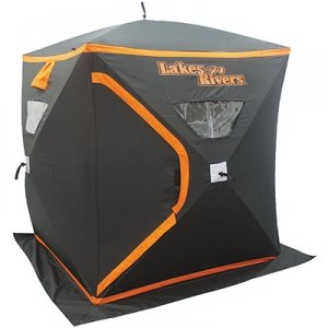 Lakes n riverstm 2 person ice fishing house for Fleet farm ice fishing