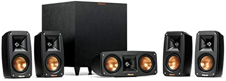 Klipsch Reference Theater Pack 5.1 Surround Sound System Bundle with Pioneer VSX-LX303 9.2-Channel 4k Ultra HD Network A V Receiver – Black
