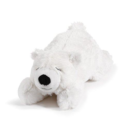 (Nat and Jules Bashful Cuddly Polar Bear White Children's Plush Stuffed Animal Rattle Toy)