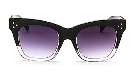 TYJYY Sunglasses Remache Ojo De Gato Gafas De Sol Mujeres ...