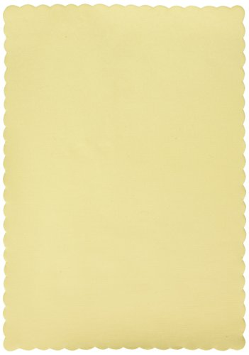 Vanilla Creme Paper Placemats | Party Supply | 600 ct. (Creme Paper)