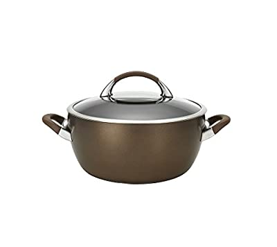 Circulon Symmetry Hard Anodized Nonstick 5.5-Qt. Covered Casserole