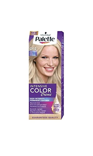 Palette Intensive Color Creme CI12 Ice Blonde Permanent Hair Color Hair Color Palette