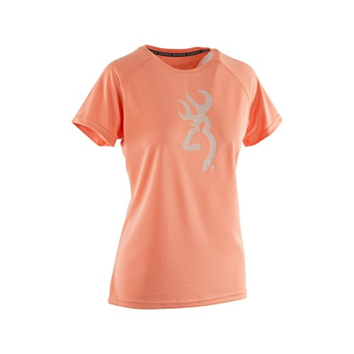 - Browning Women's Palomino Tee | Fusion Coral | Large