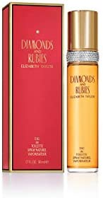 Elizabeth Taylor Diamonds & Rubies Spray for Women 1.