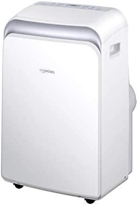 AmazonBasics Portable Air Conditioner with Remote – Cools 550 Square Feet, 12,000 BTU ASHARE / 8000 BTU SACC