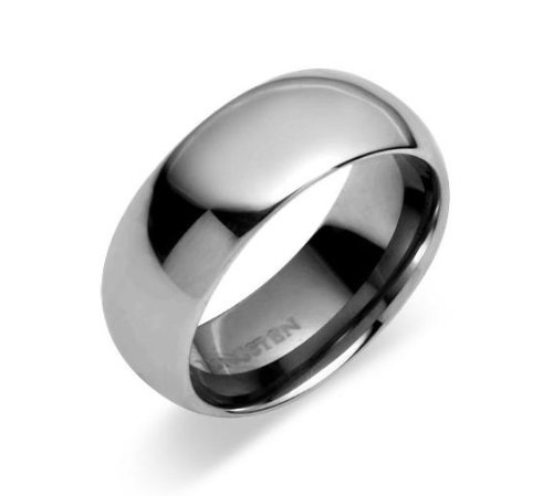 8mm Tungsten Carbide Wedding Band Promise Ring Unisex Comfort Fit All Sizes 8 to 13 31LiCcNItPL home Home 31LiCcNItPL