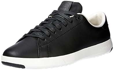 Cole Haan Women's Grandpro Tennis Shoes, 6 AU/ 7 US, Black/Optic White
