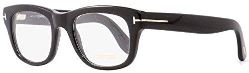 Tom Ford Rectangular Eyeglasses TF5472 001 Shiny Black 51mm ()