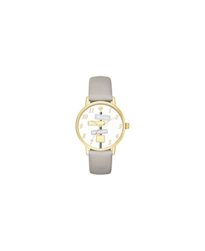 Kate Spade New York Women's Metro Watch, Gold/Grey, One Size