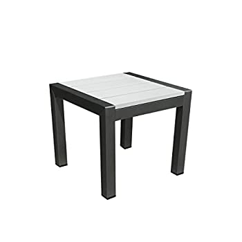 Image of End Tables Pangea Home Joseph Side Table, White