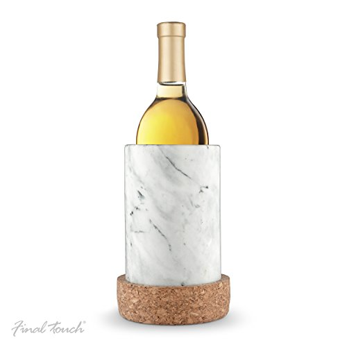 Final Touch Marble & Cork Wine Chiller
