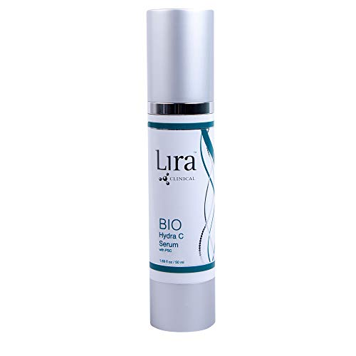 LIRA CLINICAL BIO Hydra C Serum with PSC - Vitamin C Serum With Powerful Antioxidants To Hydrate, Repair & Protect Your Skin (1.69 Ounces / 50 Milliliter)