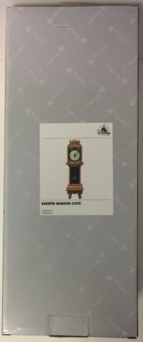Haunted Mansion Clock - Disney Parks Haunted Mansion 13 Hour Grandfather Clock Glow in Dark Figurine