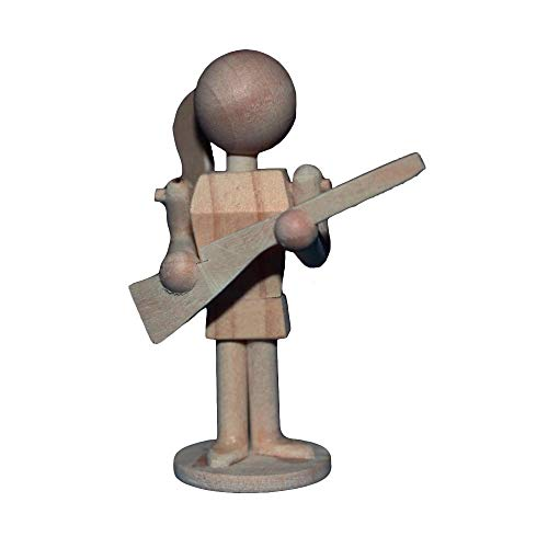 Marching Band Color Guard Rifle Ornament or Figurine